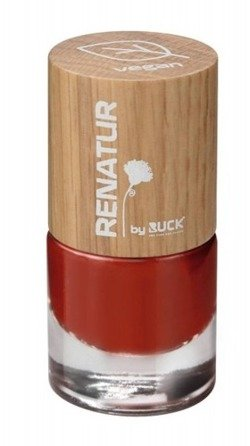RENATUR by RUCK® lakier do paznokci VEGAN, poppy, 5,5 ml