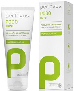 peclavus® PODOcare Fusslotion Granatapfel – Lotion do stóp granat, 100 ml