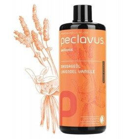 peclavus® wellness Massageöl - olejek do masażu, 500 ml
