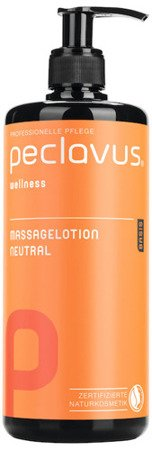 peclavus® wellness neutralny lotion do masażu ciała, 500 ml